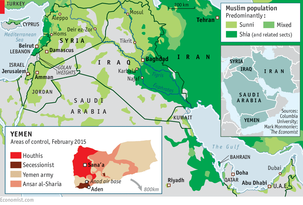 Shiites in Middle East