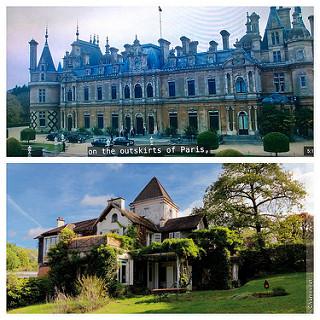 chateau versus villa