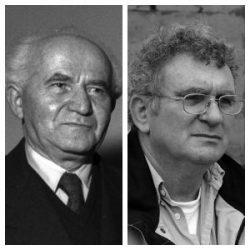 David Ben-Gurion and Benny Morris