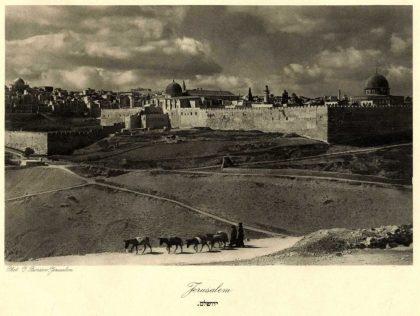 Jerusalem in the 1920s