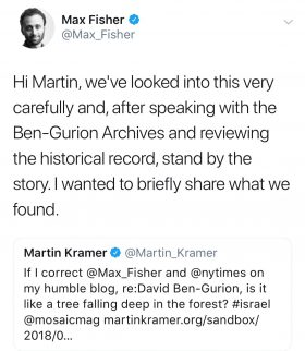 Tweet by Max Fisher