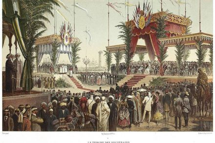 Inauguration of the Suez Canal