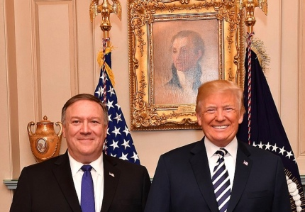 President Trump and Secretary of State Pompeo